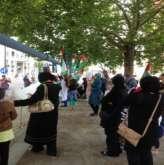 فعاليات مدينة برلين في الألمانية تضامنا مع غزة