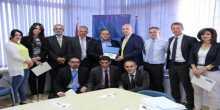 البعثة الأوروبية تستقبل وفد نقابة المحامين الفلسطينيين