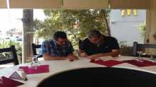 اتفاق تعاون بين الجامعة اللبنانية الألمانية lgu والمكتب الطلابي لحركة فتح في صور