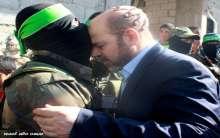 صور:أبو مرزوق يؤدي واجب العزاء بقادة القسام في رفح