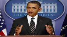 اوباما : تدخل امريكا عسكريا وكسر شوكة داعش يعطي الاسد فرصة للسيطرة ونحتاج الى تقوية المعارضة اولا