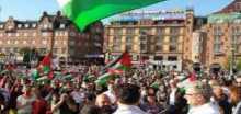 وقفة تضامنية مع اطفال فلسطين في بروكسل