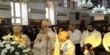قداس احتفالي في كنيسة الروم الارثوذكس في يافا