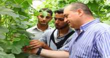 الكلية الجامعية للعلوم التطبيقية تقدم حوافز تشجيعية لطلبة دبلوم الزراعة