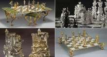 شاهد.. رقع شطرنج من الذهب والألماس ثمنها 9 ملايين دولار