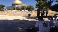 معسكر القدس اولاً في ساحات الاقصى والأف في مهرجان الاسراء والمعراج