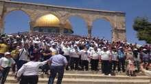المئات من ابناء الحركة الاسلامية في معسكر الثبات
