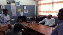 عرعرة النقب: ادارة المجلس المحلي في زيارة لمدرسة السلام الابتدائية
