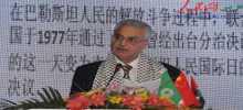 رأفت يلتقي سفير الصين لدى دولة فلسطين بحضور المستشار الأول في السفارة الصينية