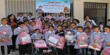 """جمعية عطاء فلسطين الخيرية تطلق حملة """"حقيبتي هدية نجاحي"""""""