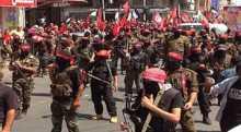 خلال مسيرة حاشدة بغزة، الشعبية: صمود شعبنا في العدوان شكّل تغيراً استراتيجياً في طبيعة الصراع
