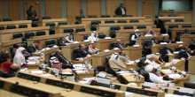 """""""البرلمان العربي"""" يندد باجراءات الاحتلال الاسرائيلي الإستيطانية بالضفة الغربية"""