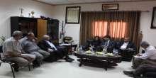 نائب المدير العام للوكالة الامريكية للتنمية الدولية USAID يزور بلدية قلقيلية