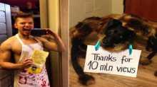 """فيديو """"الكلب العنكبوت"""" يرعب 20 مليون إنسان في يومين"""