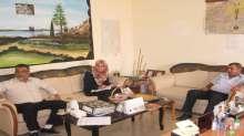 مجلس التعليم المجتمعي يزور مديرية ثقافة قلقيلية