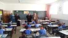مدير التربية والتعليم في محافظة قلقيلية يتفقد المدارس الحكومية في المحافظة
