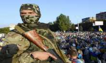 رئيس وزراء أوكرانيا: بوتين يسعى لتدمير دولتنا المستقلة