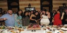 بالصور : منال عجاج تجمـع المشاهير في ميلادها وتعرض اخر صيحات الموضة