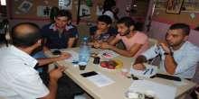 مقهى الحوار الشبابي في مخيم عين الحلوة
