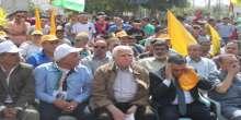 مهرجان جماهيري دعما للرئيس وإحياء للذكرى 32 لمذبحة صبرا وشاتيلا في جنين