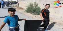 """""""حلوة يا بلدي"""" حملة توعوية في بيت عوا للحفاظ على نظافة الاماكن العامة"""