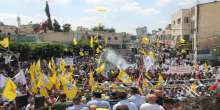 جماهير محافظة طولكرم تجدد البيعة للرئيس محمود عباس وتؤكد الإلتفاف حول القيادة