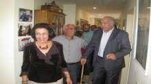 محافظ بيت لحم جبرين البكري يزور نادي المسنين التابع لمؤسسة لجان العمل الصحي ببيت ساحور