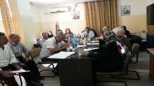 اللجنة الإقليمية للتخطيط والبناء في محافظة جنين تعقد جلستها رقم (37/2014)