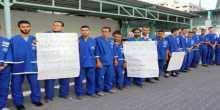 عمال شركات النظافة في المستشفيات يطالبون  بصرف رواتبهم ومستحقاتهم