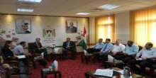د. كميل خلال إستقباله القنصل البريطاني يؤكد ان إ'قامة الدولة الفلسطينية دين في رقبة بريطانيا