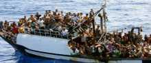 فيديو ..يرصد جزء من المكالمات التي أُجريت مع القارب الذي حمل على متنه عشرات الفلسطينيين