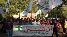 مسيرة واضاءة شموع لكشافة أشد في بيروت احياء لذكرى مجزرة صبرا وشاتيلا