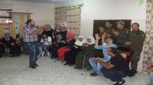 قيادة منطقة جنين وبالتعاون مع فريق متطوعو فلسطين ينظمان يوم ترفيهي للمسنين وأطفال مركز الغد للتوحد