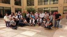 """شبيبة النجاح تعقد لقاءاً بعنوان """" حركة الشبيبة الطلابية - مسيرة و تاريخ """""""
