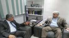 د.مجدلاني يلتقي د. رفعت السعيد وحمدين صباحي ويبحث معهم آخر المستجدات السياسي