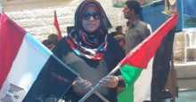 ناشطة مجتمعية  تدعو طرفي حماس وفتح لأستكمال ملفات المصالحة في منزلها بغزة