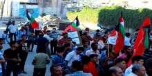 """تحت شعار """"غزة منطقة منكوبة"""" الشعبية تنظم وقفة تضامنية بالشجاعية"""