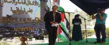 افتتاح طريق بدو بيت عنان المار من قرية القبيبة