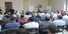 """طوباس : ندوة سياسية بعنوان """" الوضع السياسي الراهن وتداعيات الحرب على غزة """""""