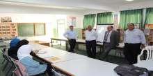 افتتاح قاعة توجيهي في مدرسة فلامية شمال قلقيلية