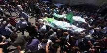 صور: الألاف يشيعون جثماني الشهيدين أبو عيشة والقواسمي بالخليل