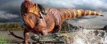 """اكتشاف ديناصور بوزن شاحنة وأنف بطة """"بالصدفة"""""""