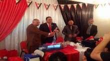 بالصور الاتحاد الدولي للمصريين في الخارج يكرم مستشار مصر الثقافي في ابو ظبى