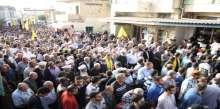 المقاومة الاسلامية تشيع الشهيد حمزة زلزلي في ديرقانون النهر