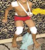 كويتية تخطف طفل أمام أصدقائه وتبدأ بذبحه