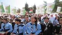 الإغاثة الزراعية ومدرسة بيتونيا تنظمان مسيرة لمقاطعة البضائع الإسرائيلية
