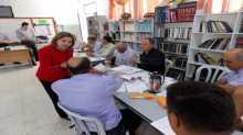 قلقيلية : ورشة عمل في القيادة التربوية لمديري المدارس الحكومية