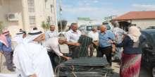 محافظة سلفيت توزيع مواد زراعية بدعم من صندوق الاستثمار الفلسطيني