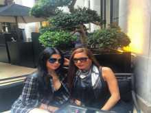 بالصور: قُطبي الجمال هيفاء وهبي ولاميتا فرنجية معاً للمرة الأولى