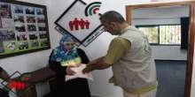 جمعية المستقبل للصم الكبار توزع مساعدات إغاثية